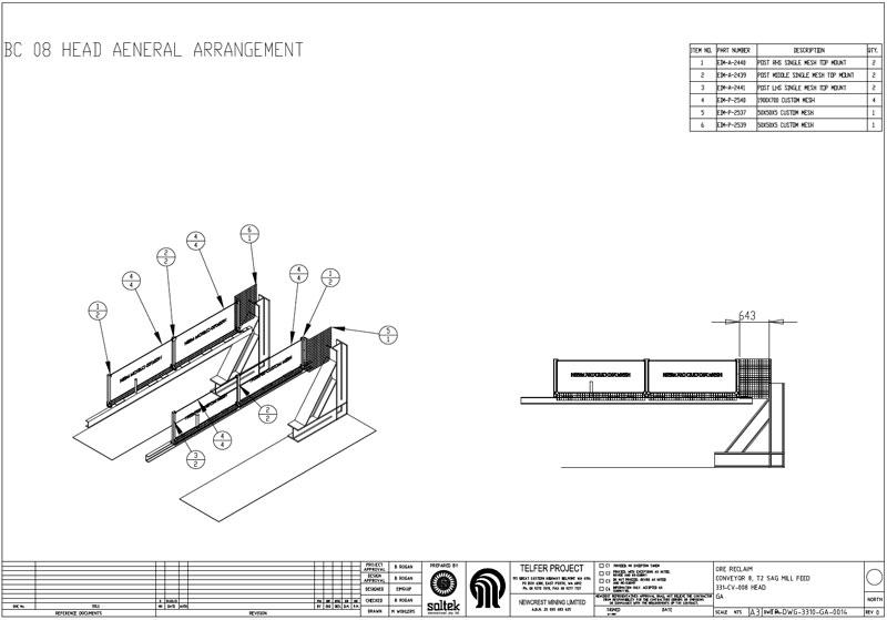 Conveyor guarding compliance auditing 2