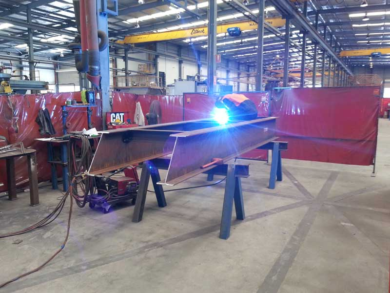 Fabrication and installation of conveyor guarding and access platforms 1