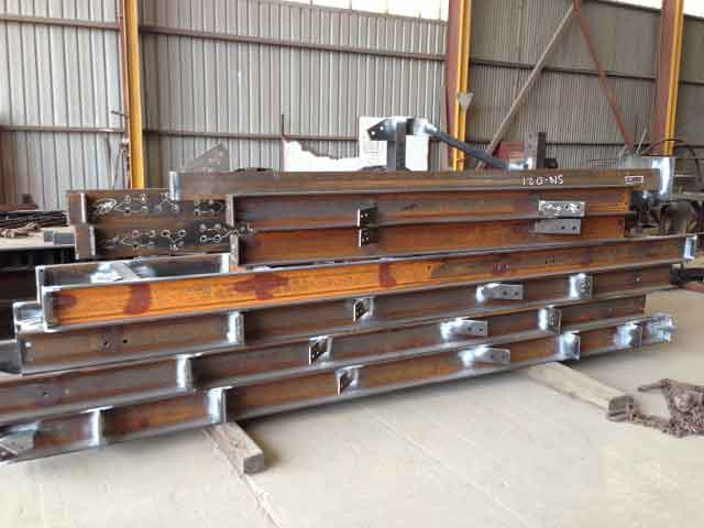 Fabrication and installation of conveyor guarding and access platforms 8